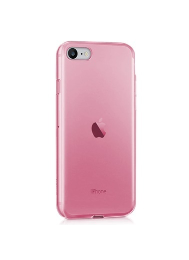 Microsonic Apple iPhone SE 2020 Kılıf Transparent Soft Pembe